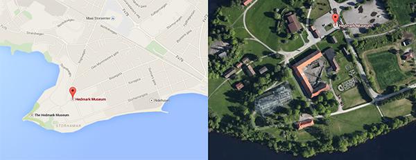 Hamar, Strandvegen 100 N-2315 60°47′33″N 11°02′24″E