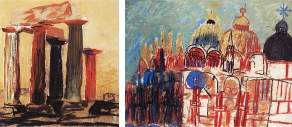 01. Croquis de Louis Kahn
