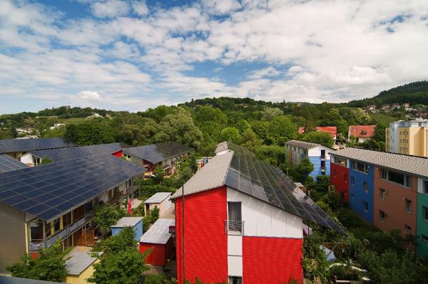 04. Solarsiedlung Vauban. Foto: Daniel Schoenen