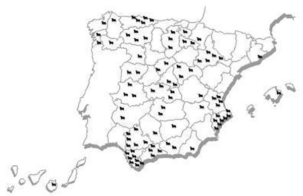 Fig. 06. La población de toros en España. Recuperada el 21 de enero de 2015 de https://viajesytazas.files.wordpress.com/