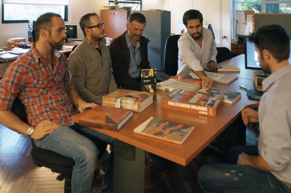 Parte del equipo Plexo junto al Lic. Marcos Lafluf