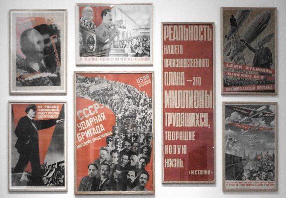 Londres - New Tate Modern - expo de afiches soviéticos. Viaje 2015