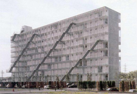 Figura 14: Fotografía extraída de internet – Complejo habitacional de Gifú.