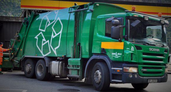 Figura 3: Vehículos de recolección en Copenhague.
