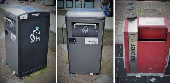 Figura 5: Dispositivos contenedores de Dinamarca, Cope nhague