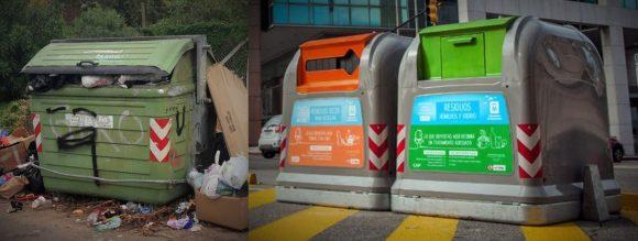 Figura 6: Dispositivos contenedores en Uruguay, Montevideo.