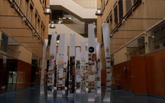 Figura 5: ETSAM – UPM Patio interior. Foto: M. Berriolo
