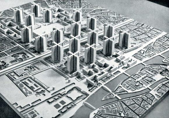 Figura 2: Plan Voisin (1923) _ Le Corbusier