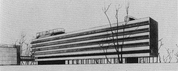 Figura 18: Conjunto de viviendas Narkomfin