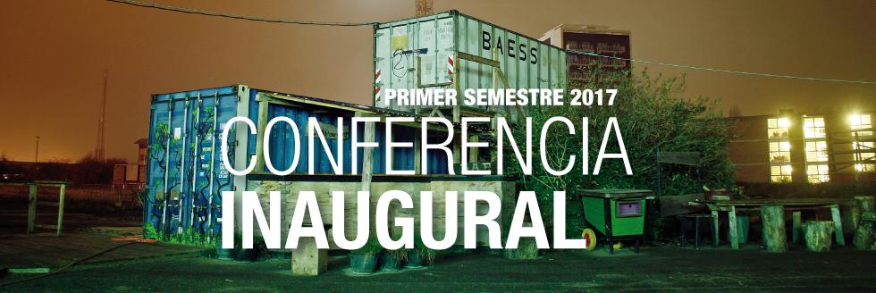 Conferencia Inaugural del primer semestre 2017: Guy Julier