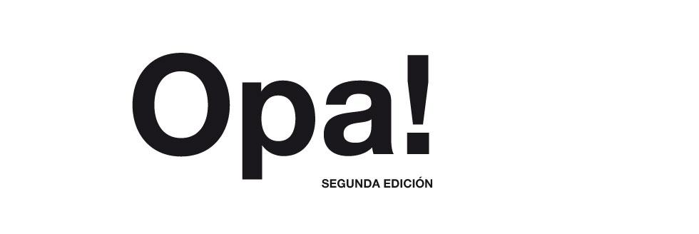 Opa! Segunda Edición
