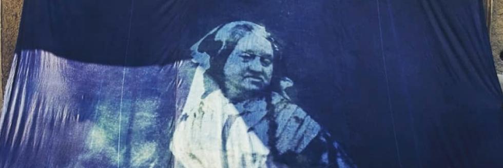 Cianotipia gigante – homenaje a Anna Atkins | FADU