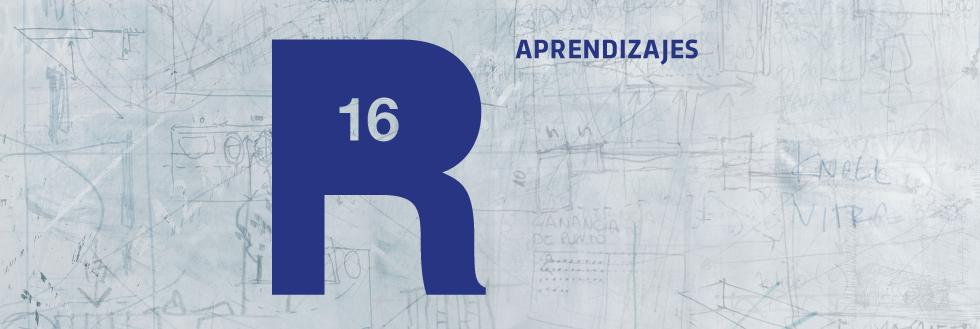 """Presentación: Revista R16, """"Aprendizajes"""""""