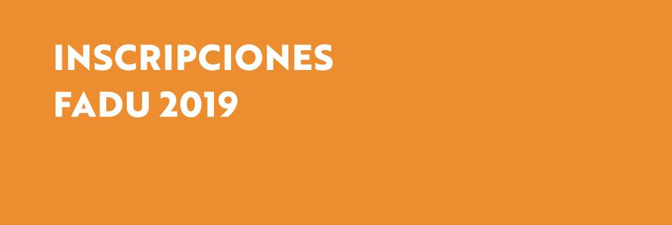 Inscripciones a cursos y talleres 2019