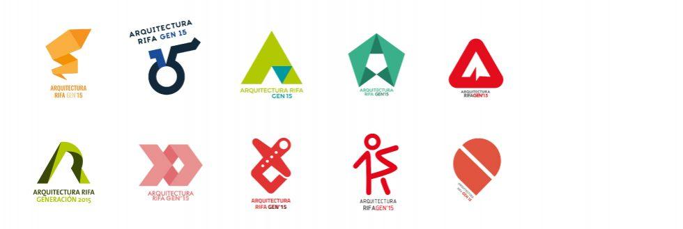 Concurso Logotipo | Arquitectura Rifa Gen 2014