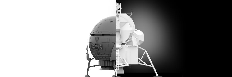 Kubrick vs Houbolt; ergonomía y diseño