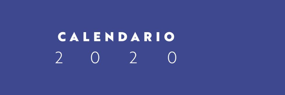 Calendario Académico 2020