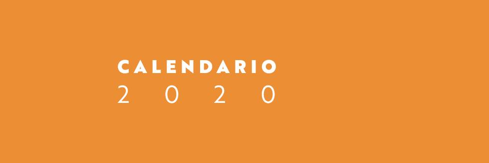 Calendario académico 2020actualizado