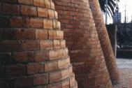 Centro Comercial Montevideo Shopping Center, Ing. DIESTE Eladio, proyecto Arqtos. Gómez Platero y Cohe. 1984-1985. Montevideo, Uy. Foto original del Estudio Dieste & Montañez
