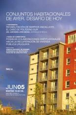 Conferencia: Conjuntos habitacionales de ayer. Desafío de hoy