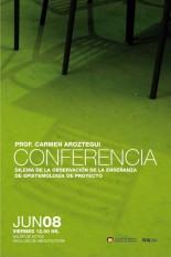 Conferencia Prof. Carmen Aroztegui