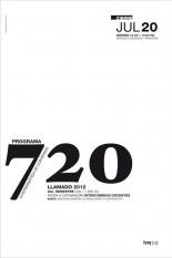 Llamado 2012 / Programa 720