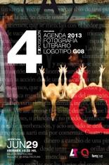 4ª Exposición Concursos: Agenda 2013, Fotografía, Literario, Logo G08
