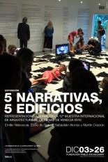 Exposición 5 Narrativas, 5 Edificios