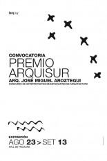 Convocatoria premio Arquisur